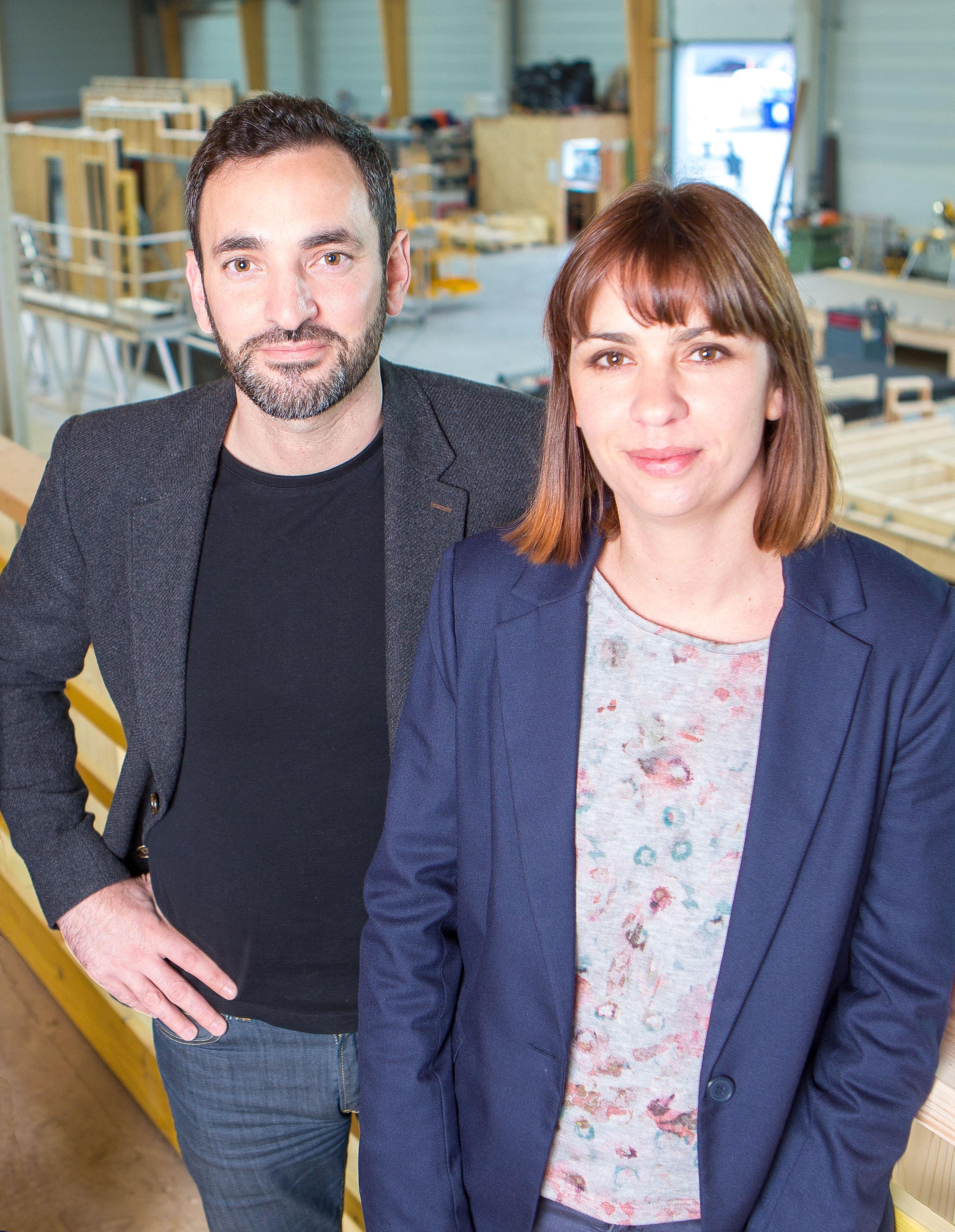 Julie et Mickaël Pérocheau, Gérants de ARCADIAL